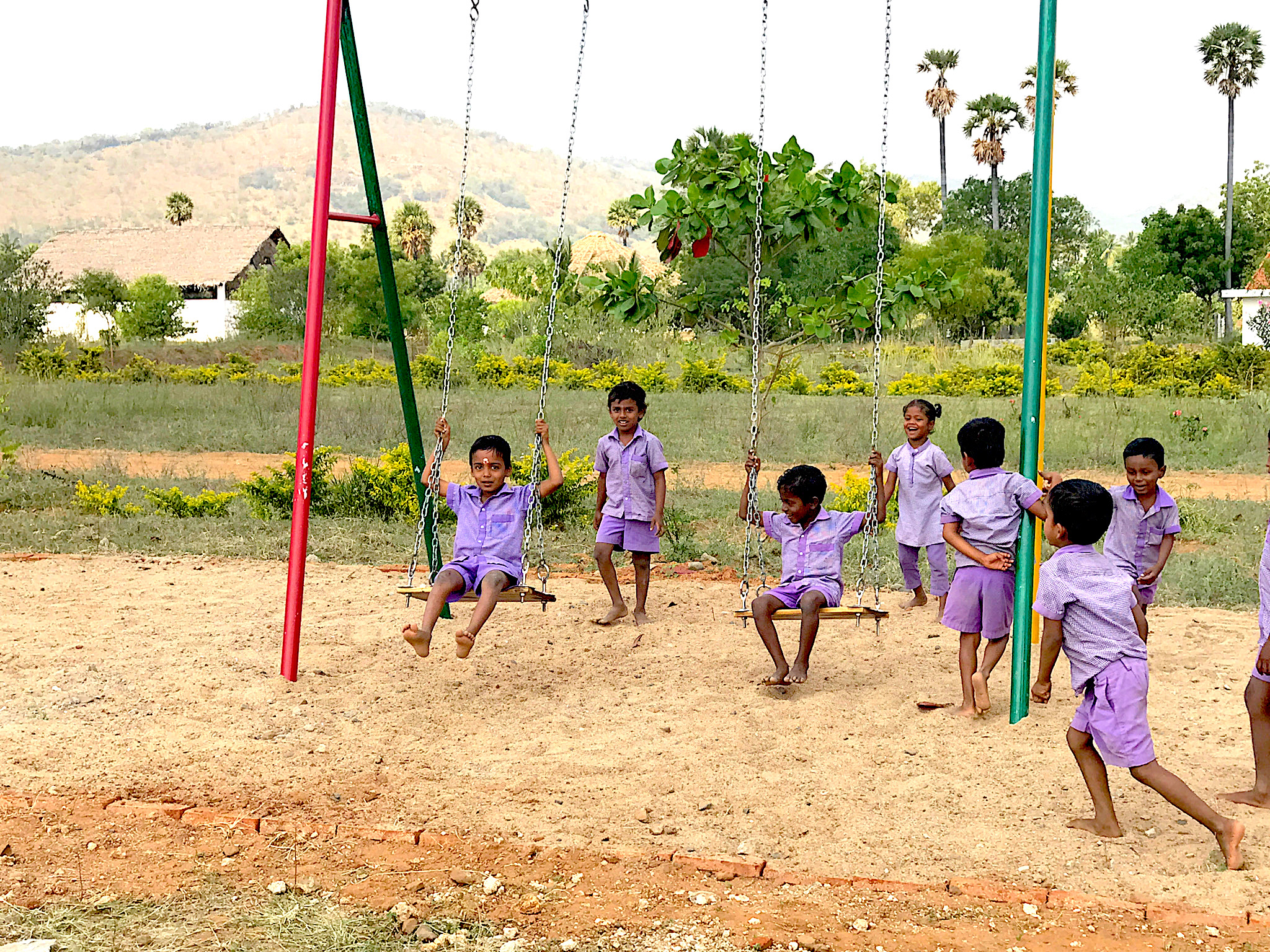 Playground for Sita Devi Charity School