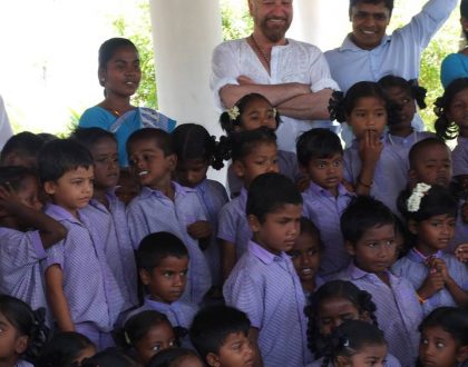 Chairman Meets with Students at Sita Devi Charity School
